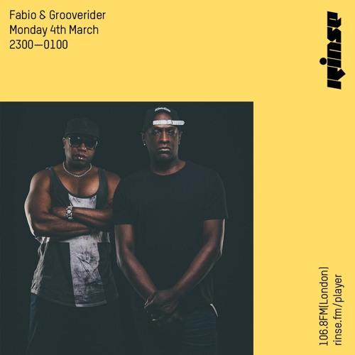 Fabio, Grooverider - Rinse FM (04-03-2019)