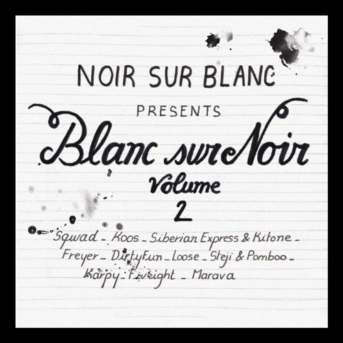 VA - BLANC SUR NOIR VOLUME 2 (LP) 2019