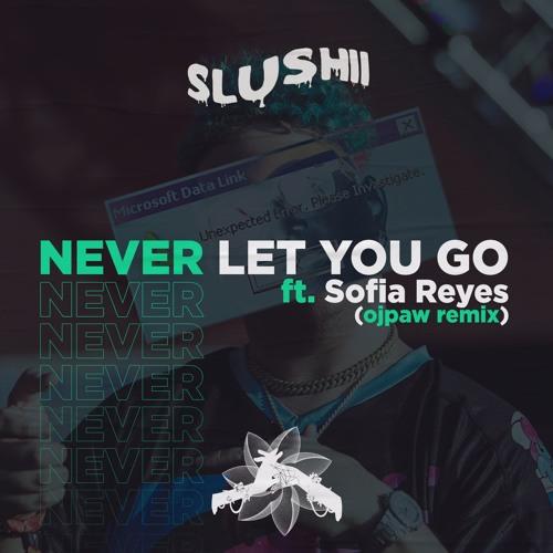 slushii - never let you go (feat. sofia reyes) (ojpaw remix)