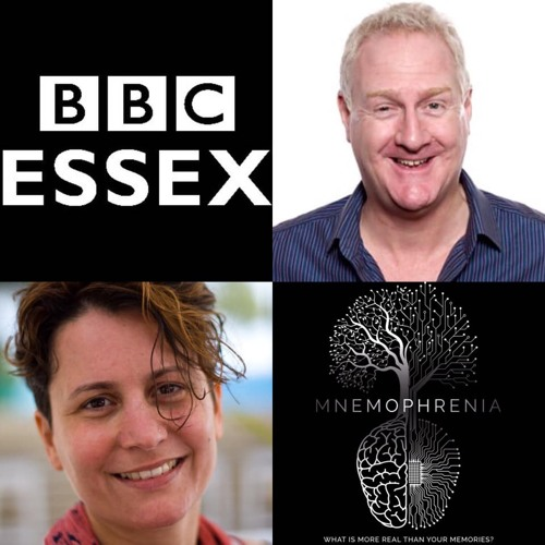 Eirini Konstantinidou talks about Mnemophrenia on the BBC Essex Dave Monk show