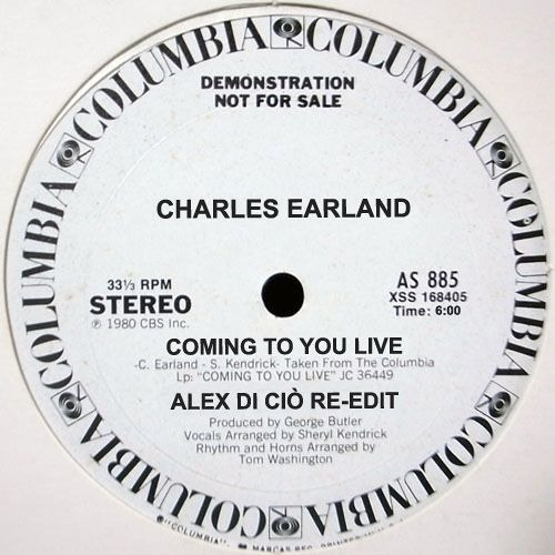 Charles Earland - Coming To You Live (Alex Di Ciò Re-Edit)
