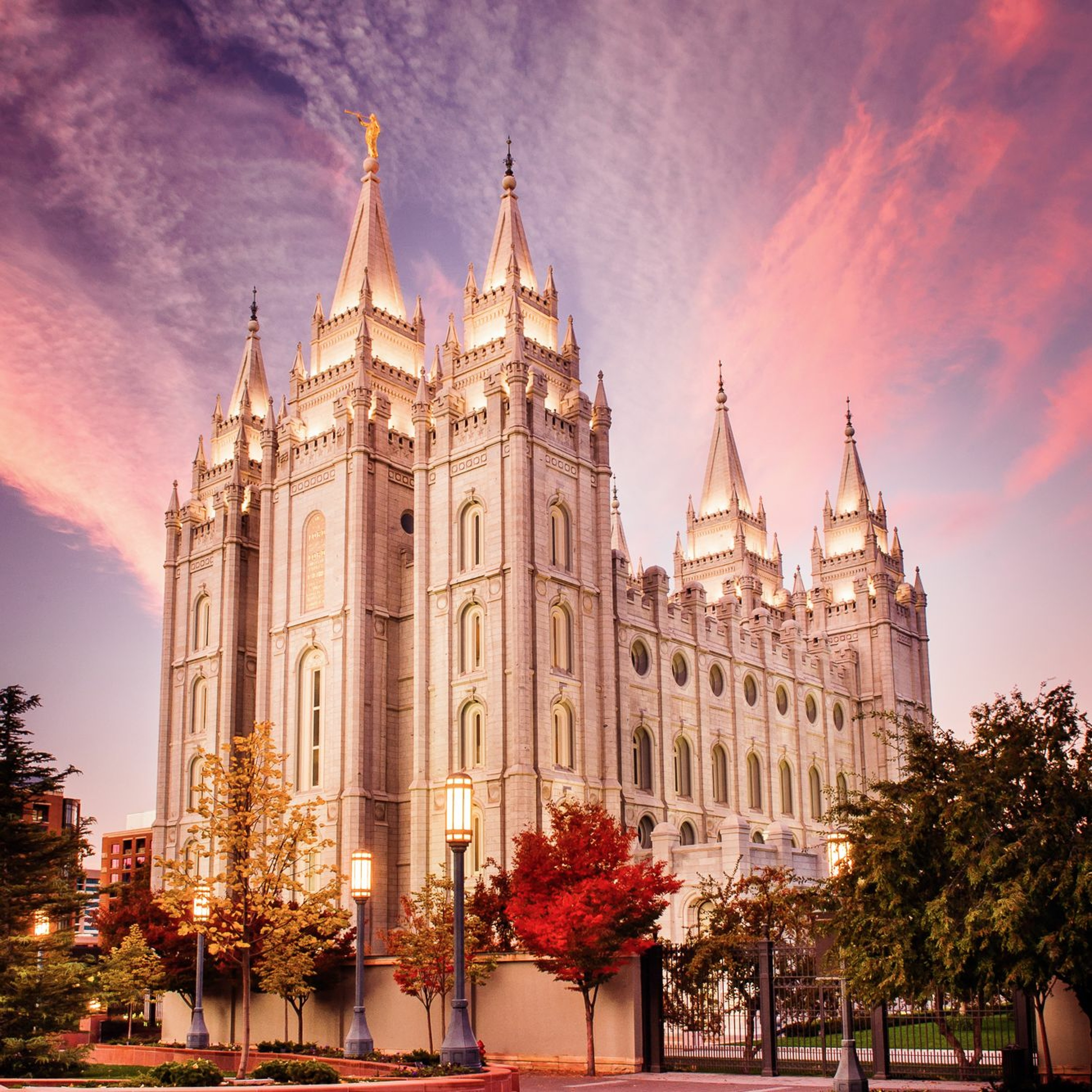 The temple endowment has changed over...