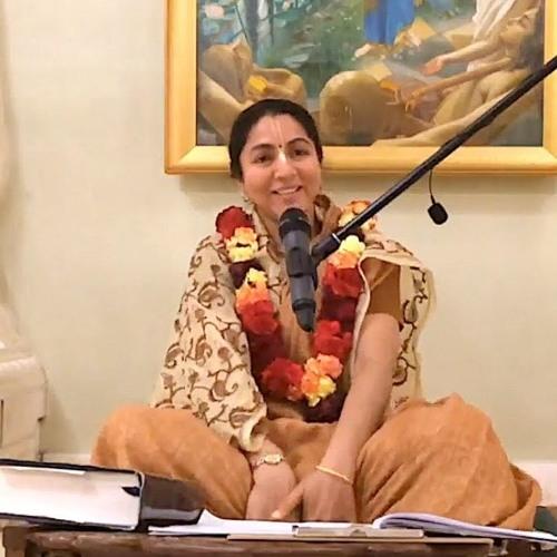 Śrīmad Bhāgavatam class on Thu 7th Mar 2019 by Priti Lakshana Devi Dāsi 4.21.8-9