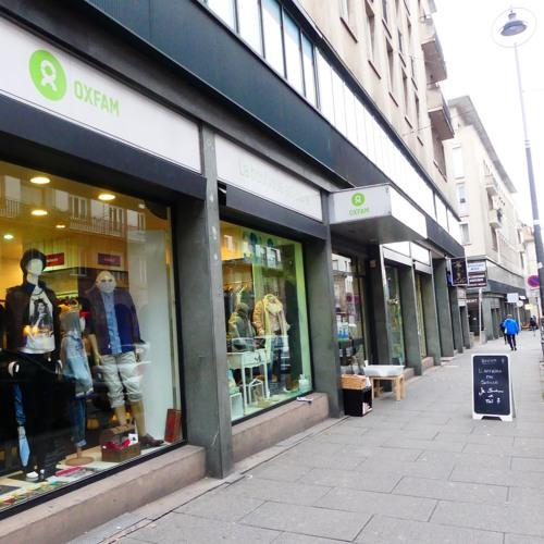 Boutique Solidaire et Actions Citoyennes contre la pauvreté avec Oxfam Strasbourg