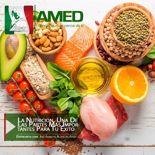Podcast 271 AMED -  La Nutricion, Una De Las Partes Más Importantes Para Tu Éxito Integral