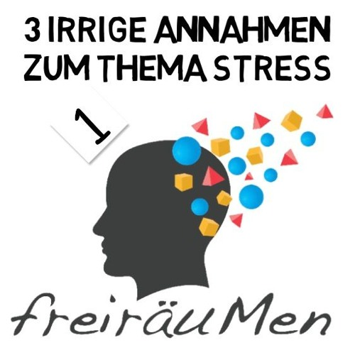 Freiräum Podcast N°1, 3 irrige Annahmen zum Thema Stress