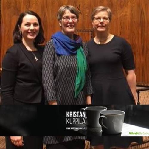 Kristan kuppila, kansanedustajien arkea kimppakämpässä: Satu Hassi ja Hanna Halmeenpää