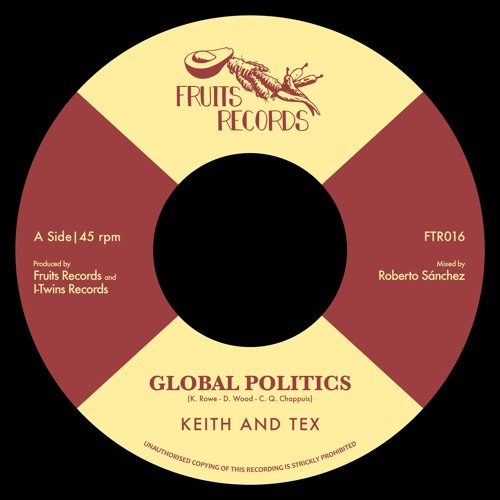FTR016 | Keith & Tex - Global Politics (Preview)