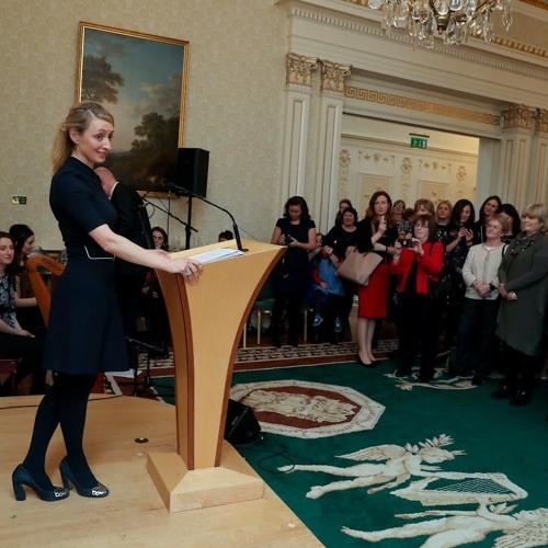 Ruth Freeman responds to International Women's Day speech by President Higgins