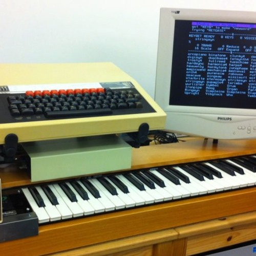 Music 5000 (Acorn BBC Micro): DIY MUSIC 4000 Keyboard Test by