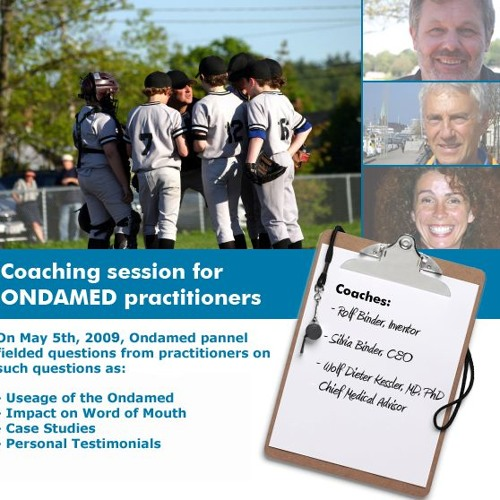 Coaching Session for ONDAMED Practitioners