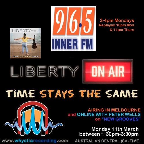 LIBERTY TUOHY on INNER FM Radio Melbourne 110319