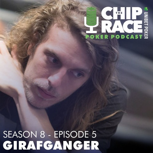 The Chip Race - Season 8 Episode 5 - Girafganger, Martin Harris, Kat Arnsby & Barry Carter.