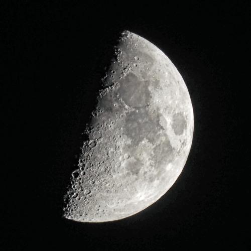 3/11/19 - First Quarter Moon
