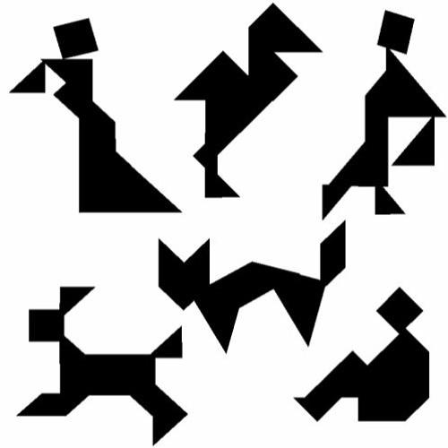 танграм картинки без контуров лучших