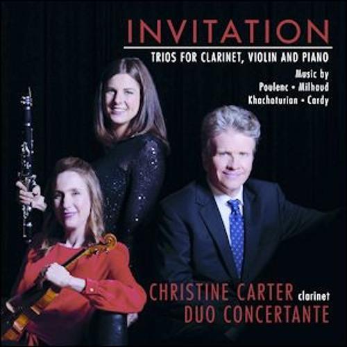 Invitation: Trios for Clarinet, Violin and Piano