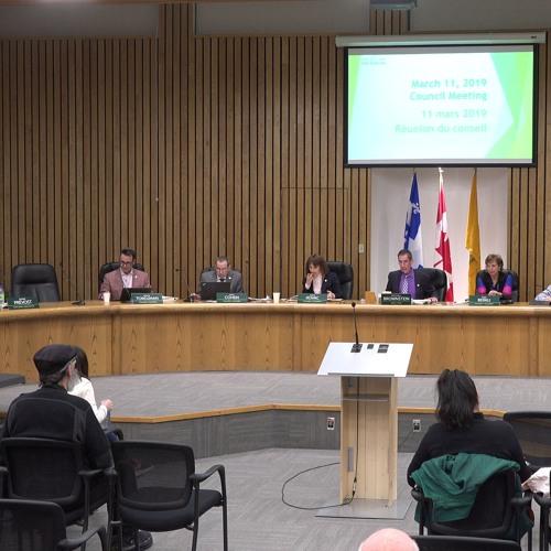 Council Meeting - March 11, 2019 // Côte Saint-Luc