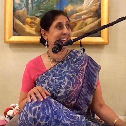 Śrīmad Bhāgavatam class on Sun 10th Mar 2019 by Radhika Devi Dāsi 4.21.12