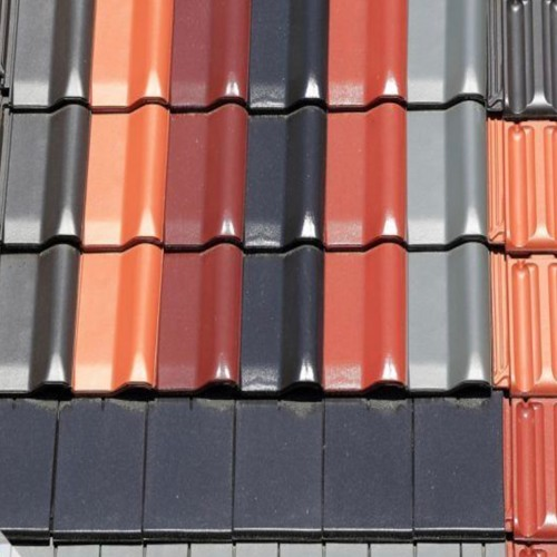 Red or Blue Roof Tiles ?