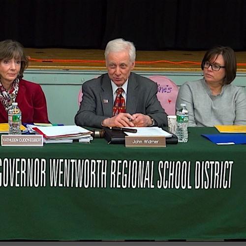 Governor Wentworth Regional School District 3/11/19 Audio
