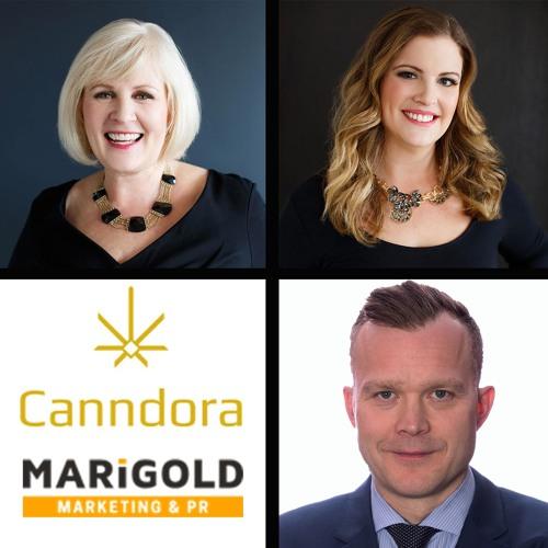 Canadian Cannabis Update Ep103- Int. w Canndora Club & Marigold PR Founders