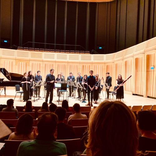THE FINGERS OF THE LIGHT - song for #RWCMD Chamber Winds
