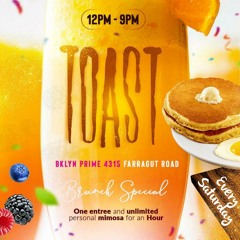 Lovelifesounds -Toast Saturdays Brunch March 2nd 2019