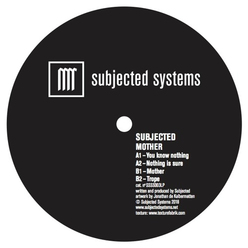 Premiere: Subjected - Algorithm Lies [Subjected Systems]