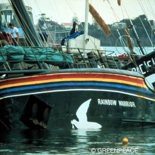 Rainbow Warrior Midge: Episode 10: Bombing Of The Rainbow Warrior By JUST CASES