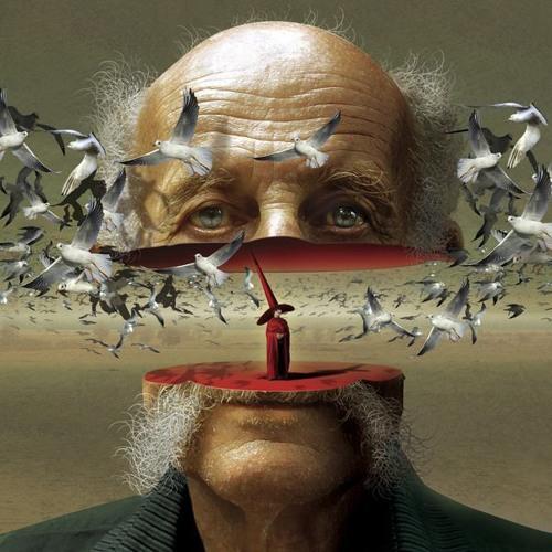 مأساة النرجس , ملهاة الفضة محمود درويش