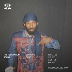 The Federation Sound 03.13.19 • Red Bull Radio • Max Glazer • Spragga Benz