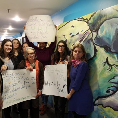 Día Mundial de Acción en Defensa de los Ríos y en Contra de las Represas