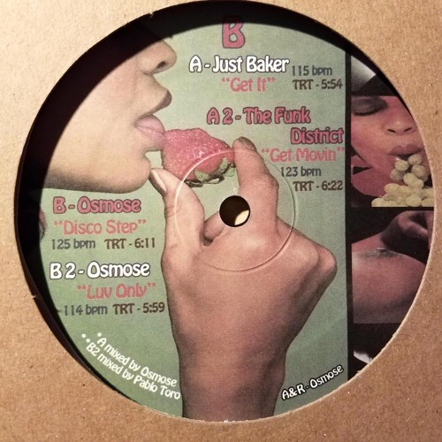 """""""Disco Step"""" preview  Smokecloud records 12 inch Vinyl Only SCR-024"""