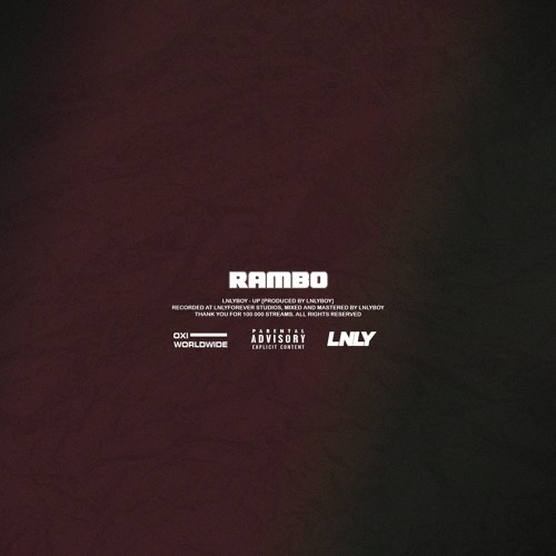 RAMBO [THANK YOU FOR 100K STREAMS! ]