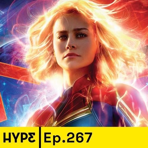 Podcast 267: Nuestras opiniones de Capitana Marvel y el nuevo trailer de Avengers: Endgame