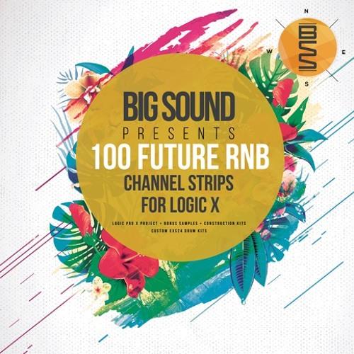 100 Future RnB Channelstrips for Logic Pro X Demo