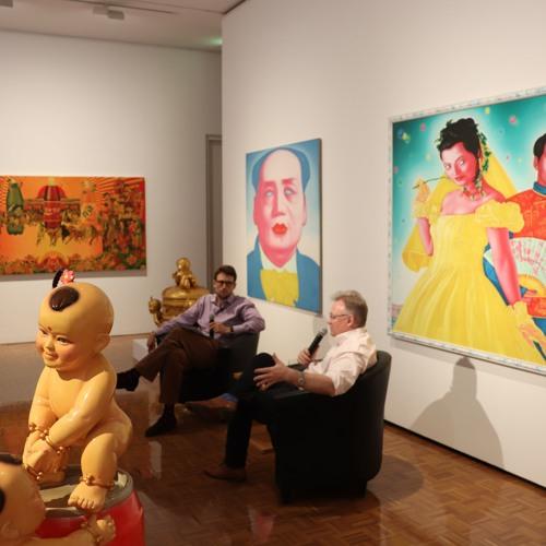 Evan Hughes and John McDonald in conversation at Delmar Gallery  2 March 2019