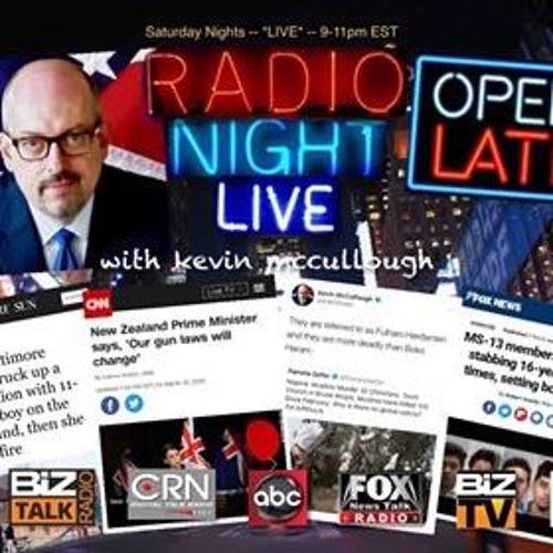 20190316 Radio Night Live Hour 2