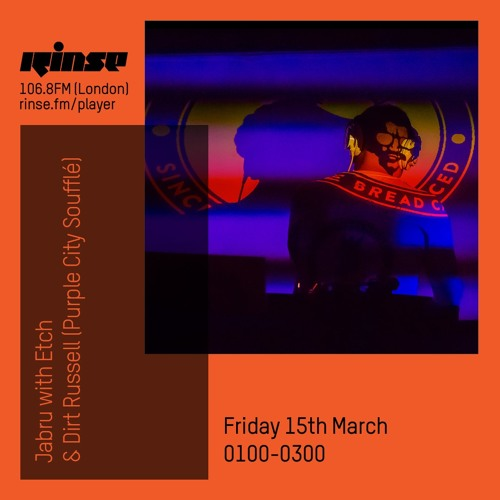 Jabru with Etch & Dirt Russell (Purple City Soufflé) - 15th March 2019