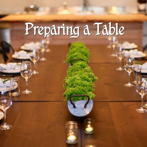 Preparing A Table