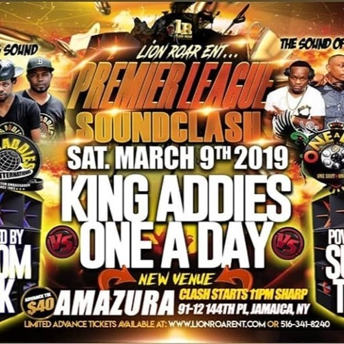 Mar 2019 - King Addies VS One A Day in NYC (Premier League