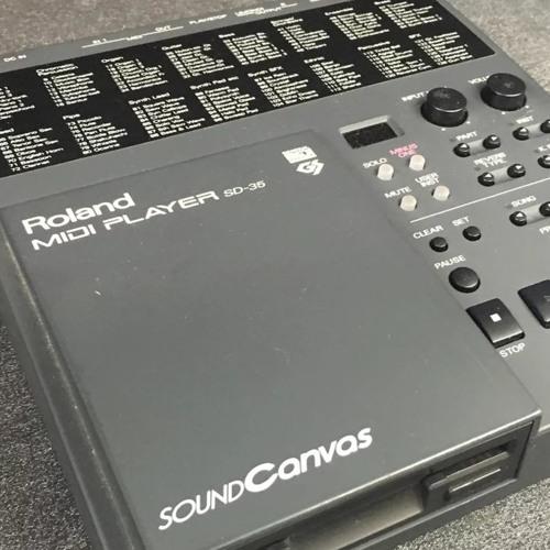 Roland SoundCanvas SD-35 MIDI