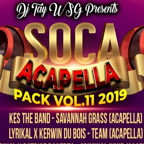 DJ TAY WSG - SOCA ACAPELLA PACK VOL 11 2019 AUDIO PREVIEW by