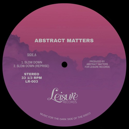 Abstract Matters 12""