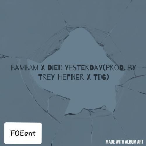 Died Yesterday x BamBam(prod. by Trey Hefner x TD6)
