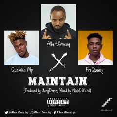 MAINTAIN - Ft Quamina Mp X FreQuency (Prod. By YungDemz, Mixed By NixieOfficivl)