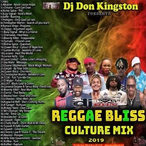 Reggae Bliss Culture Mix 3/19 (Dj Don Kingston) by Hecklers Inc/Di