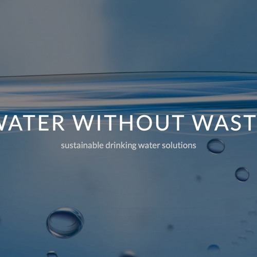 Marja Kok, Founder of Water without Waste