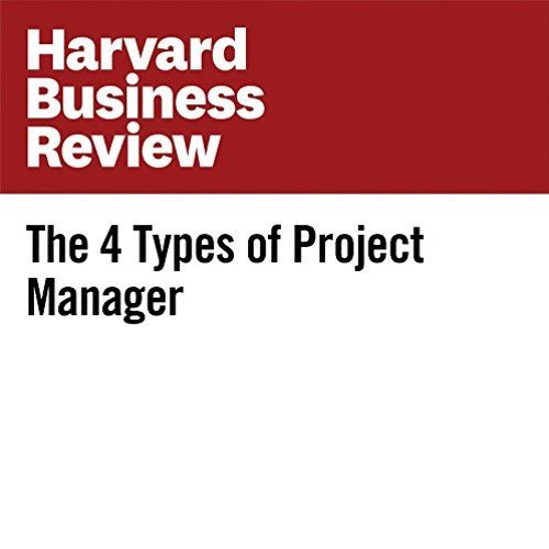 The 4 Types of Project Manager By Carsten Lund Pedersen, Thomas