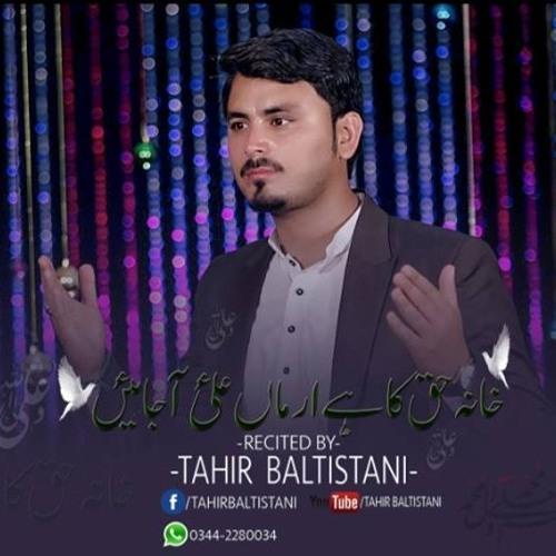 New Manqabat 2019 | Ali (ع) Aa jaen | Tahir Baltistani | New